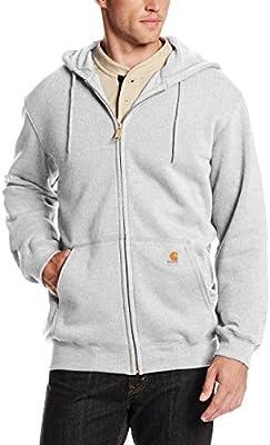 Carhartt K122 - Capucha suéter con Capucha, carbón de leña XX, Brezo