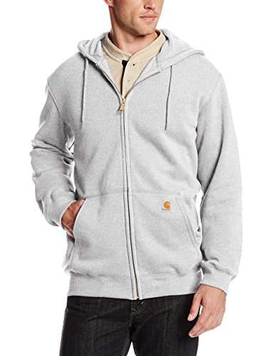carhartt-k122hgys008-midweight-hooded-zip-front-sweatshirt-colour-heather-grey-size-xx-large