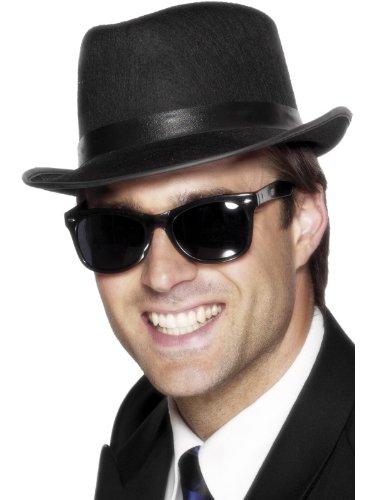 der 50er Specs, Action Dress Ups und Zubehör, schwarz (50er Jahre Hut)