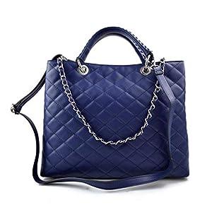 Damen schultertasche blau leder damen handtasche damen henkeltasche leder damentasche leder schultertasche leder henkeltasche