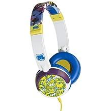 Moshi Monsters HMO-C1-WHT1-DB - Auriculares de diadema cerrados con cable, color blanco