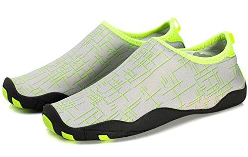 DADAWEN chaussures pour sport aquatique /plage /running Mixte Adulte Vert