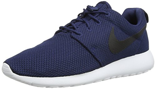 Nike Herren Roshe ONE Low-Top Blau (405 Midnight Navy/Black-White) 39 EU