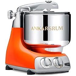 Ankarsrum 6230 OR Pétrin multifonctions, 1500 W, 7 liters, Arancione