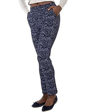 Mer's Style Pitillo Pantalón Ajustado para Mujer