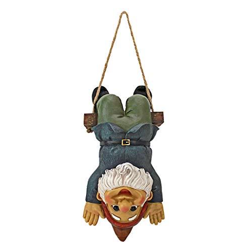 Design Toscano Alfie, der Akrobat: Schaukelnder Gartenzwerg, Figur