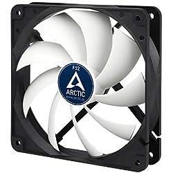 ARCTIC F12 Standard - 120 mm, Ventilateur Haute Performance, Ventilateur Boitier, Refroidisseur Silencieux pour Unité Centrale, Roulement à Fluide Dynamique, Support à Broches Standard