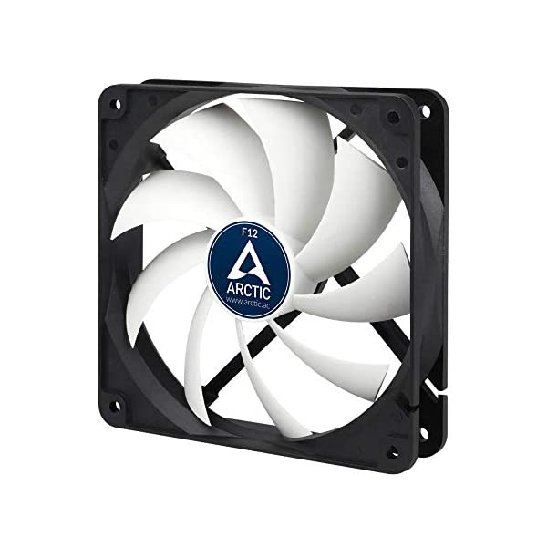 ARCTIC F12 – 120 mm Standard Case Fan | Ultra Low Noise Cooler | Silent Cooler with Standard Case | Push- or Pull Configuration possible 41eGvSwHh9L