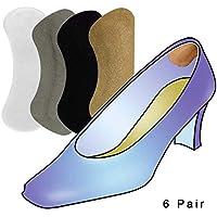 Vital Foot – Salvamedia Fersenpolster, selbstklebend, Schuhe, bequem, 6 Paar grau preisvergleich bei billige-tabletten.eu
