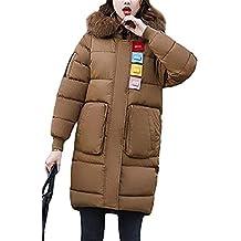 Femme Quilting Blouson Automne Hiver Oversize Doudoune Jacken Élégant Mode  Vintage Festive Vêtements Gaine A Capuche c3c8ba6de48