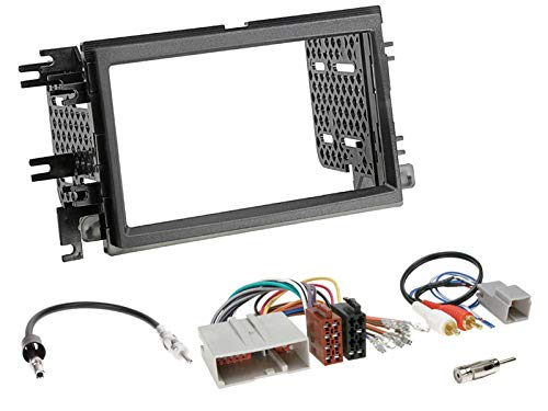 JVC-KW-M25BT-2-DIN-Digital-Media-Receiver-Bluetooth-Shortbody-Bluetooth-passend-fr-Ford-Mustang-V-2005-2009-schwarz