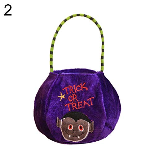 en Kürbis Hexe Treat oder Trick Candy Hand Tasche Aufbewahrungstasche Party Decor - 2# ()