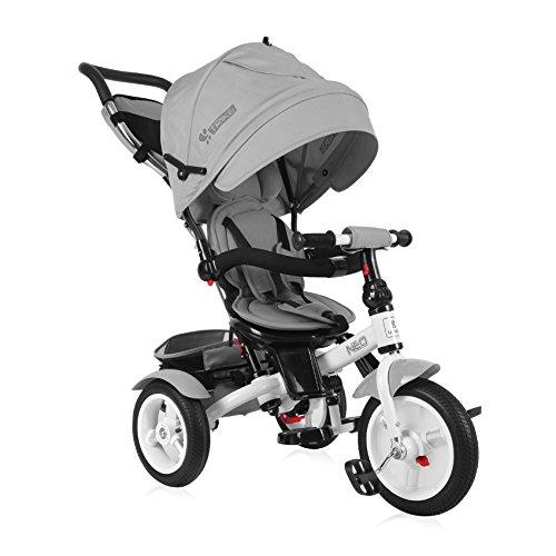 Lorelli Neo Tricycle Bébé/Enfant avec Roues Gonflables Gris