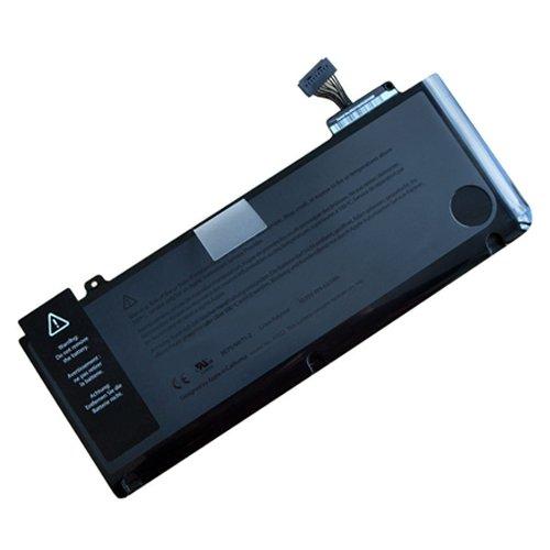 amsahr A1322-02 Ersatz Batterie für Apple MacBook Pro 33 cm (13 Zoll) Models: A1278 (2009 Version), MB990-A, MB990CH-A, MB990J-A schwarz -