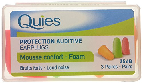 QUIES foam ear plugs soft (Quies Ear Plugs)