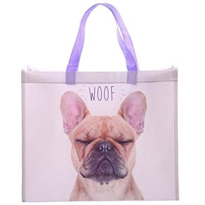 French Bulldog Shopping Bag H 33cm w40cm d 16.5cm