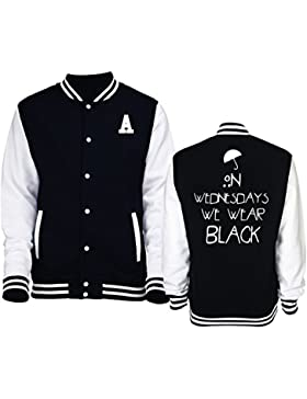 Giacca/felpa unisex Varsity tipo College American Horror Story Coven-New Indastria - XL-NERA