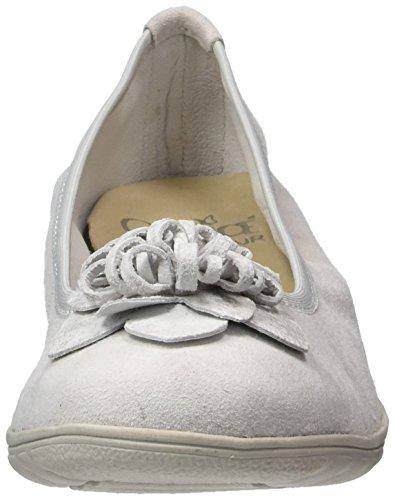 Caprice Ladies 22153 Ballerine Chiuse Grigie (lt Pettine Grigio)