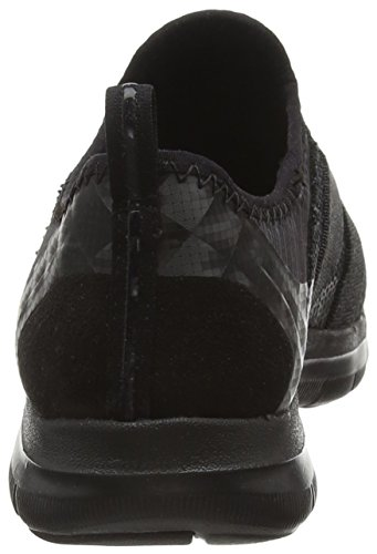 Skechers Flex Appeal 2.0 New Image, Baskets Basses Femme Noir (Bbk)