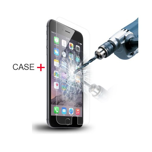 Cover iPhone 5/5S/SE, TrendyBox Cute Case Cover per iPhone 5 5S SE con Vetro Temperato Pellicola Protettiva (Angelo e Coniglio Rosa) Gufo e Rosa Albero