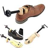 Jinxuny Barella Scarpa Professionale in Legno di Pino Regolabile Scarpa Unisex per Scarpa Expander Calzatura Durevole per Uomo Donna Bambino (Size : L(EU 42-46))