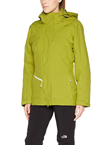 Fifty Five Damen 3-in-1 Jacke Doppeljacke Winterjacke Minaki Bay Grün Blau 44 Outdoorjacke Winddicht Wasserdicht Atmungsaktiv