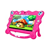 Ainol 7C08 Kinder Tablet 7 Zoll Android 7.1 1024*600 RK3126C 1GB+8GB Dual Kamera WiFi External 3G Tablet PC 3200mah Akku Kid Education Tablet --PINK