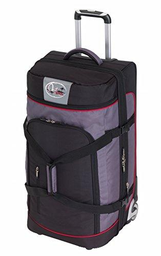 CHECK.IN Outbag Sports 2-Rollen Trolley- Reisetasche 72 cm - schwarz/rot