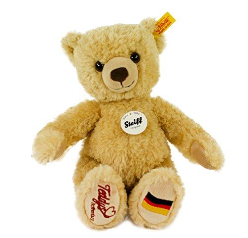 STEIFF 674211 Teddybär Kim Exklusiv, 28 cm, beige, mit Fußsohlenbestickung
