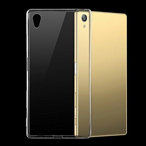 Sony Xperia Z5 Premium Helix Rubber Soft Silicon Transparent Case...
