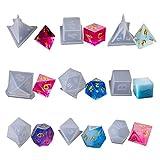 Ninbo 9 moules en forme de cube en silicone