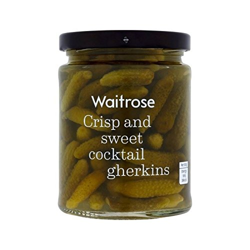 Cocktail Cornichons Waitrose 290G - Paquet de 6