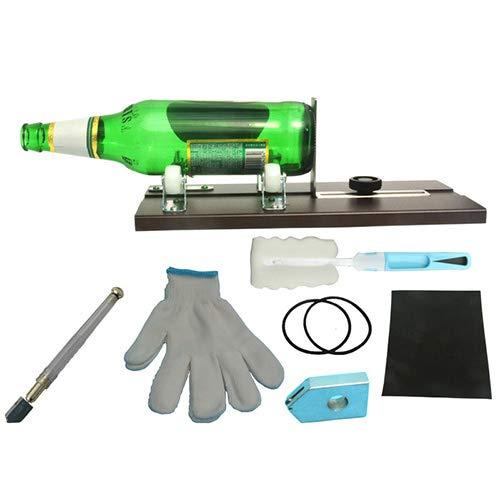Diy Glasflaschenschneider-Set zum Schneiden von Plastik- und Glasflaschen Geschnittene runde Glasflasche vom Hals bis zum Boden Flaschenschneidewerkzeug für DIY-Projekte
