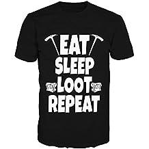 Pevita Camiseta Fortnite Eat Sleep Loot Repeat
