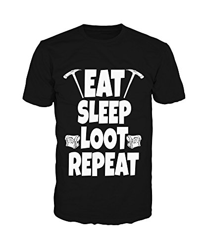 Pevita Camiseta - Fortnite. Eat Sleep Loot Repeat (S)