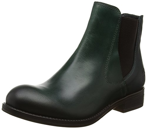 Fly London Alls076fly, Bottines Chelsea Green Woman (essence / Récif)