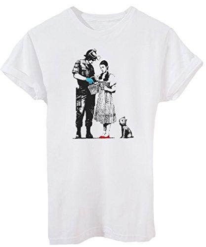 T-Shirt BANKSY GOOD COP - STREET & SOCIAL - by iMage Bianca