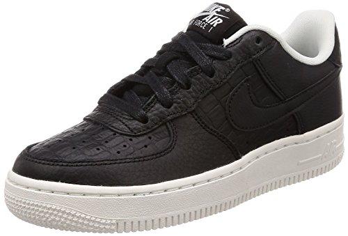 Nike Unisex-Kinder Air Force 1 LV8 (GS) Sneaker, Schwarz Black-Summit White 012, 36.5 EU (Tennis-nike Air Force)