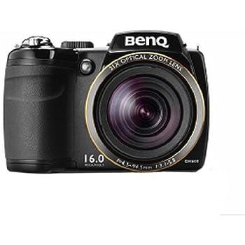 """BenQ GH600 - Cámara compacta de 16 Mp (pantalla de 3"""", zoom óptico 21x, estabilizador de imagen óptico), negro"""