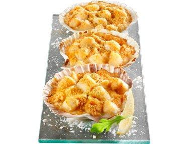 TOUPARGEL - Coquilles de noix de Saint-Jacques Royale - 6 x 100 g - Surgelé