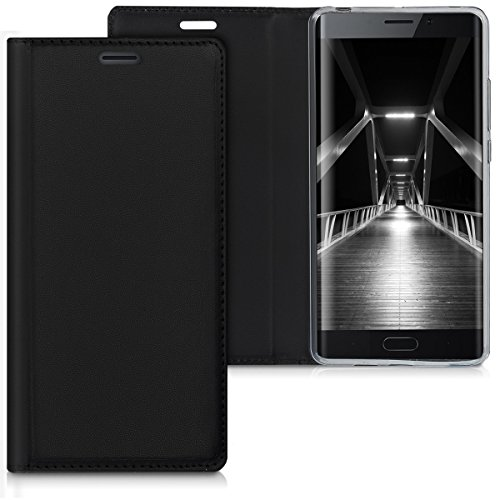 kwmobile Xiaomi Mi Note 2 Hülle - Kunstleder Handy Schutzhülle - Flip Cover Case für Xiaomi Mi Note 2