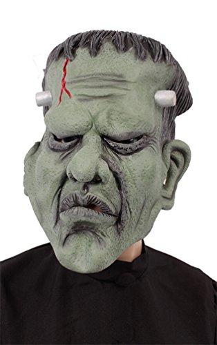 ostüm Maske Frankenstein Monster Zubehör Halloween Karneval (Frankenstein Kostüm Halloween)