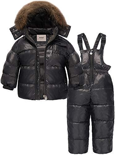 9432a98b ZOEREA Chaqueta de esquí para niño Chaqueta niña abrigos niño Pantalones de  nieve Ropa de invierno Set