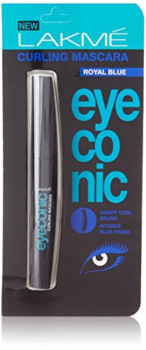 Lakme Eyeconic Curling Mascara,Royal Blue, 9 ml