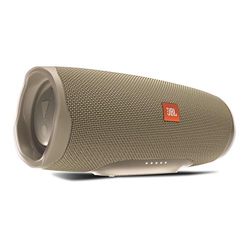JBL Charge 4 Bluetooth-Lautsprecher - Wasserfeste, portable Boombox mit integrierter Powerbank - Mit nur einer Akku-Ladung bis zu 20 Stunden kabellos Musik streamen Sand