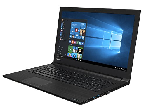 "Toshiba Satellite Pro R50-C-15P - Ordenador portátil de 15.6"" (Intel Core i3-6006U, 4 GB de RAM, 500 GB de disco duro, Windows 10 Pro) color negro – teclado QWERTY español"
