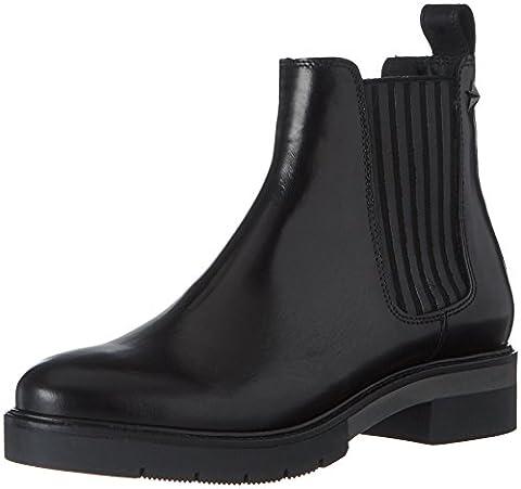 Tommy Hilfiger Damen R1285OXANA 2A Chelsea Boots, Schwarz (Black), 37 EU (Chelsea Girls Schuhe)