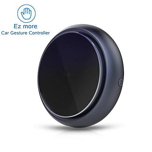 Ez More Gestensteuerung, Smart Bluetooth V4.2 Auto-Multimedia-Handgestensteuerung Musik/Lautstärke/Anrufbeantworter Eingebauter Akku Handgestenerkennung Freihändiger Auto-Controller