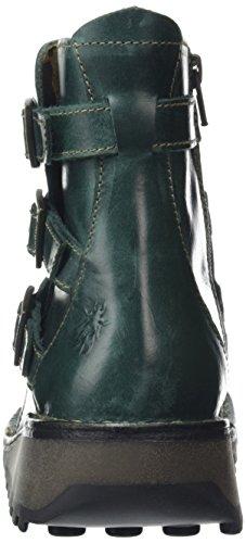 FLY London Myso, Bottes femme vert  (Petrol 008)