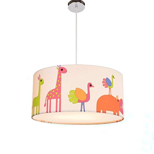 DGF Kinderzimmer Pocken Kronleuchter Kreatives Schlafzimmer Baby Zimmer Beleuchtung Personalisierte Cartoon Tier Lichter (Drei-Farben optional) ( Farbe : B-Diameter: 50 ) (3-tier-kristall-kronleuchter)